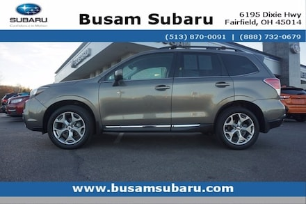 Featured Used 2018 Subaru Forester 2.5i Touring SUV JF2SJAWC2JH437449 for Sale near Cincinnati, OH