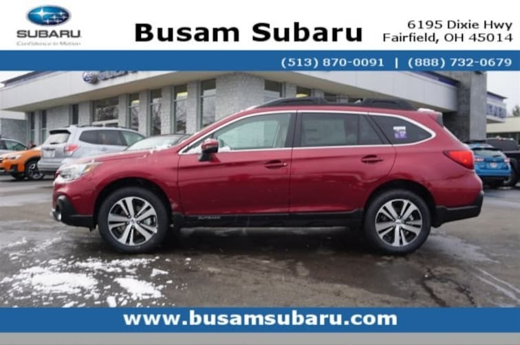 New 2019 Subaru Outback 2.5i Limited SUV K3264926 in Fairfield, OH