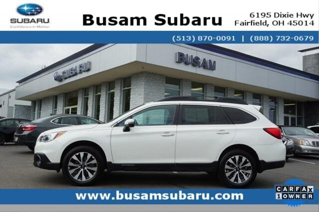 2016 Subaru Outback 3.6R SUV 4S4BSENC1G3340023