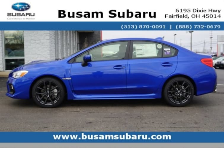 New 2019 Subaru WRX Premium (M6) Sedan K9816753 in Fairfield, OH