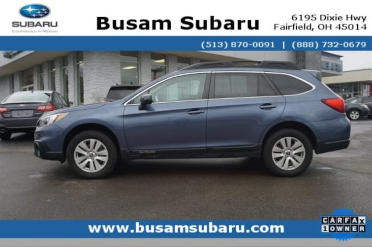 Certified Pre Owned 2017 Subaru Outback 2.5i SUV 4S4BSAFC2H3242255 Cincinnati