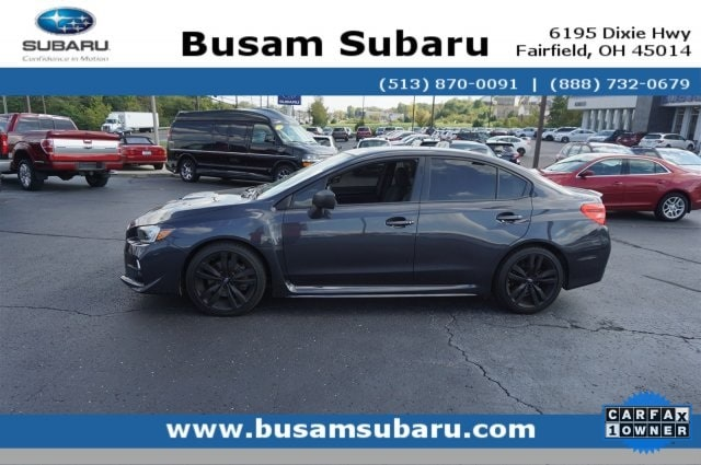 2016 Subaru WRX Limited Sedan JF1VA1J68G9807857