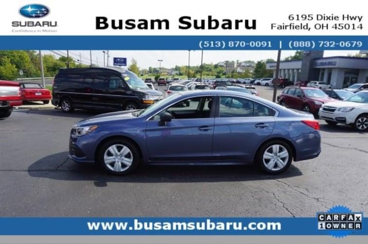 Used 2018 Subaru Legacy 2.5i Sedan 4S3BNAA63J3040320 Cincinnati
