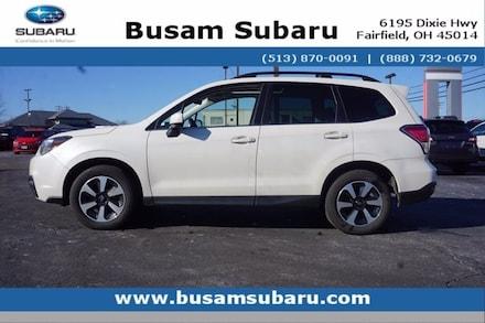 Featured Used 2018 Subaru Forester 2.5i Limited SUV JF2SJARC8JH481578 for Sale near Cincinnati, OH
