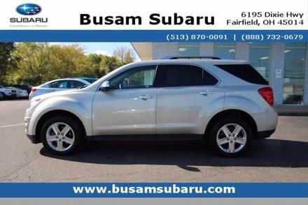 Featured Used 2015 Chevrolet Equinox LTZ SUV 2GNALDEK3F6431825 for Sale near Cincinnati, OH