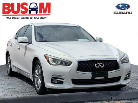 Featured Used 2014 INFINITI Q50 Premium Sedan JN1BV7AR5EM701409 for Sale near Cincinnati, OH