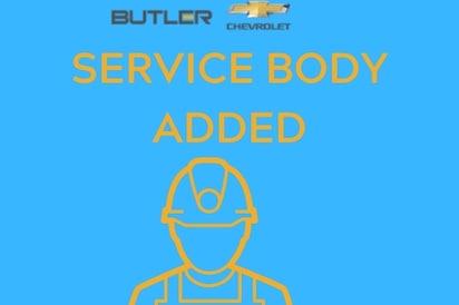 2021 Chevrolet Silverado 2500 HD WORK TRUCK WITH SERVICE BODY Truck