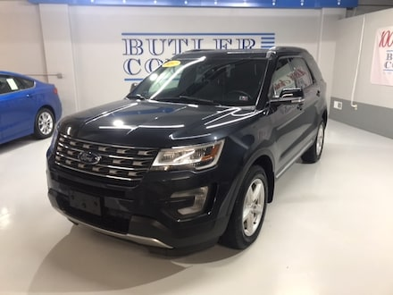 Featured Used 2017 Ford Explorer XLT SUV for Sale in Butler, PA