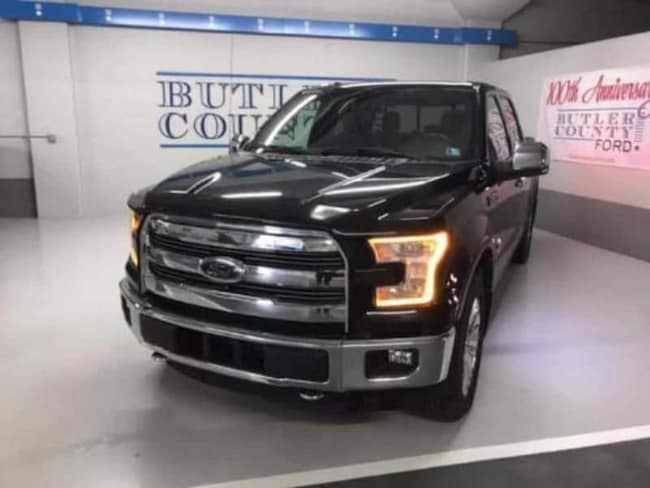 2015 Ford F-150 Pickup your used Ford authority in Butler PA
