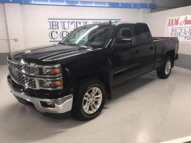 2015 Chevrolet Silverado 1500 LT Extended Cab Truck your used Ford authority in Butler PA