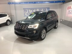 Used 2016 Ford Explorer Limited SUV for Sale in Butler