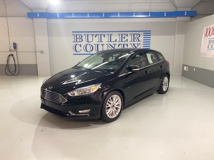 Featured Used 2017 Ford Focus Titanium Hatchback for Sale in Butler, PA