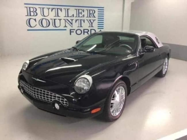 2002 Ford Nieman Marcus Thunderbird Convertible your used Ford authority in Butler PA
