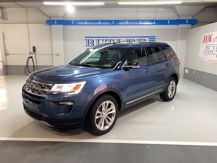 Featured Used 2018 Ford Explorer XLT SUV for Sale in Butler, PA