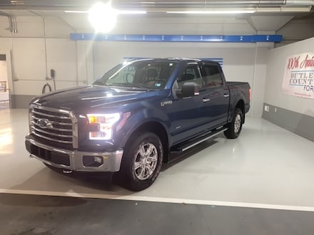 Featured Used 2017 Ford F-150 XLT Crew Cab for Sale in Butler, PA