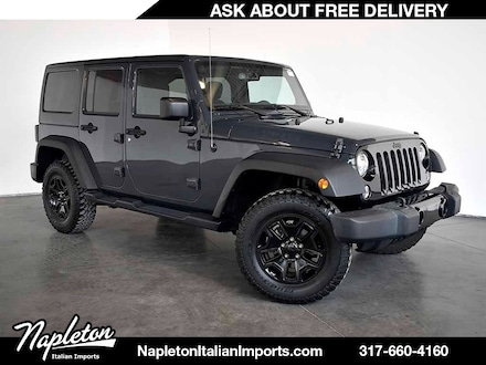 2017 Jeep Wrangler JK Unlimited Sport 4x4 SUV