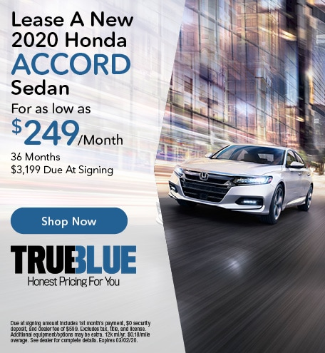 New 2020 Honda Accord  - Lease Offer