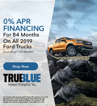 0% APR Financing For 84 Months On All 2019 Ford Trucks