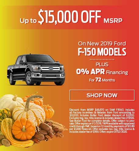 New 2019 Ford F-150 Models - Up To $15,000 OFF MSRP
