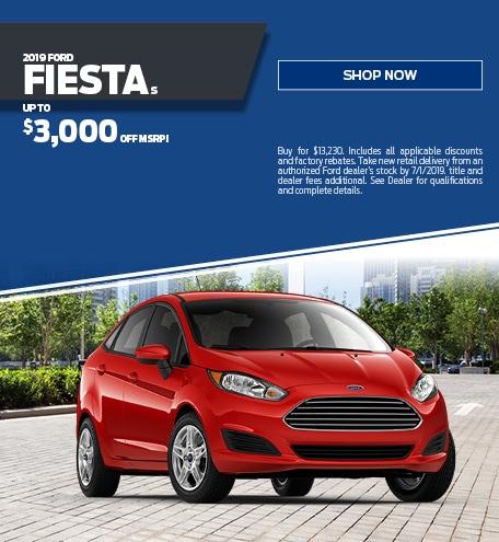New 2019 Ford Fiesta