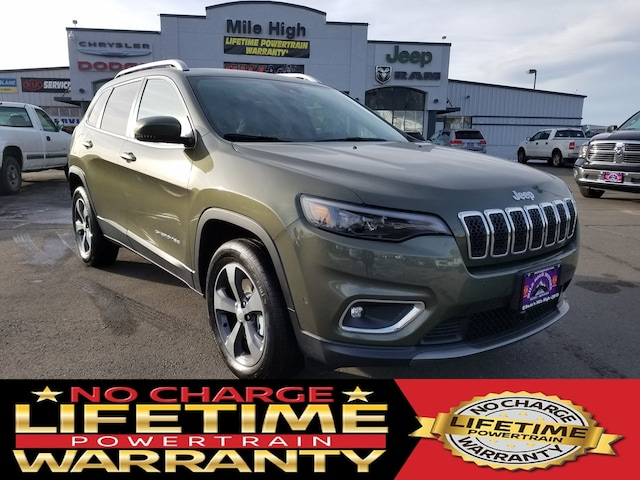 New 2019 Jeep Cherokee For Sale at Butte's Mile High Chrysler Jeep