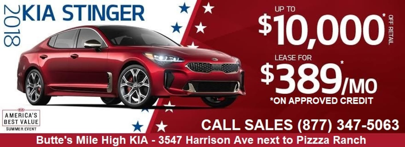 New used kia dealership butte mt butte 39 s mile high kia for Mile high motors butte