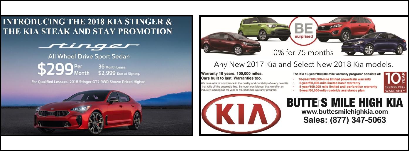 Butte 39 s mile high kia montana new kia dealership serving for Mile high motors helena