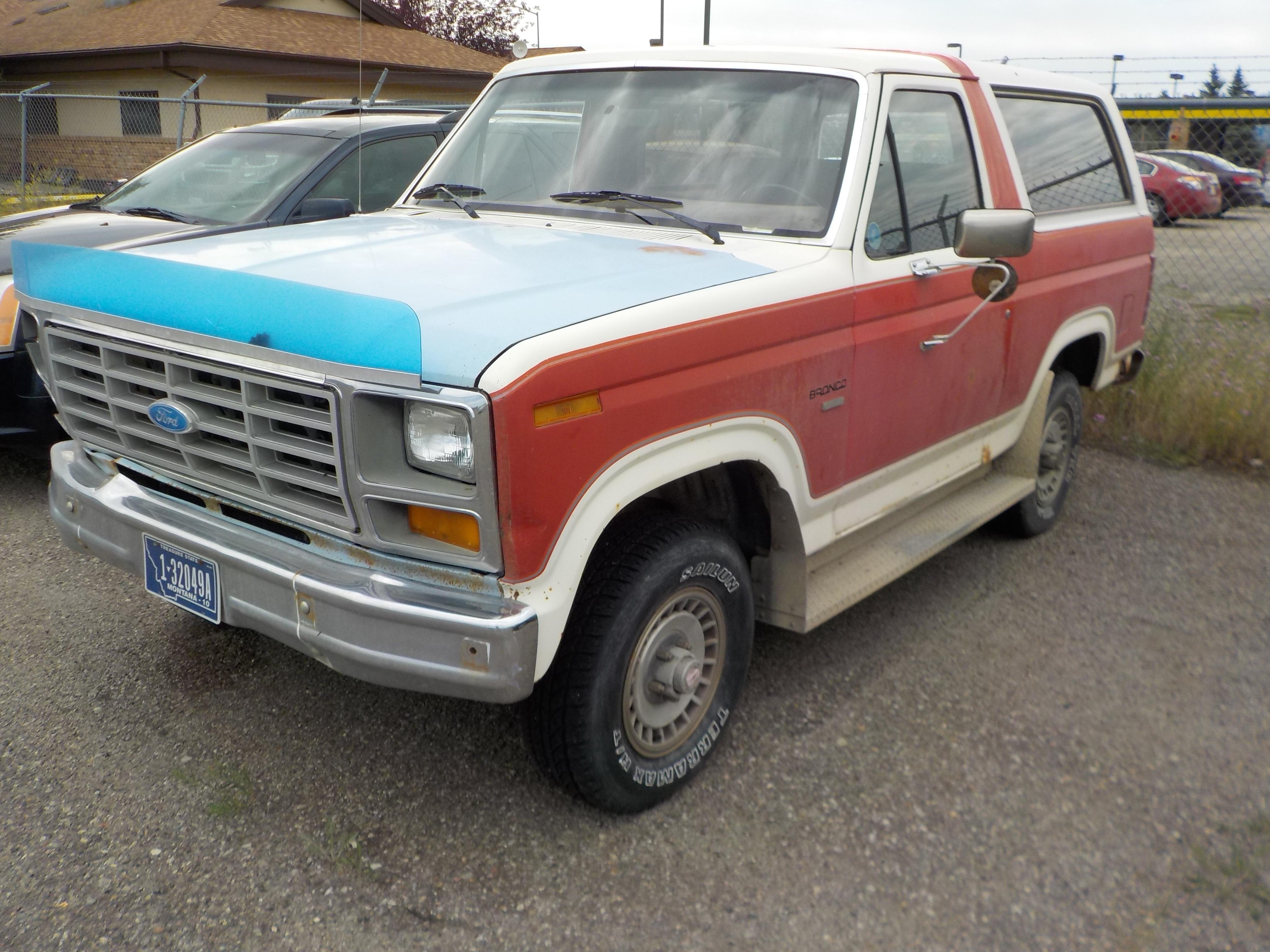 1985 Ford Bronco Base Wagon