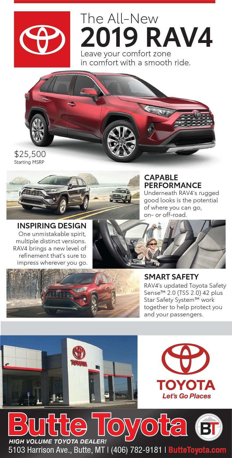 Current Newspaper Ads Butte Toyota