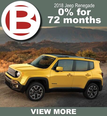 2018 Jeep Renegade 0%