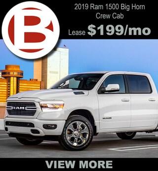 19 Ram Big Horn Crew Cab $199/mo