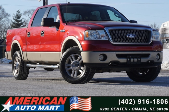 2008 Ford F-150 SuperCrew Lariat 4x4 Truck SuperCrew Cab