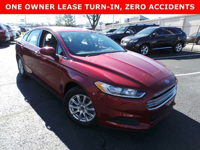 Used 2016 Ford Fusion S Sedan in Louisville, KY