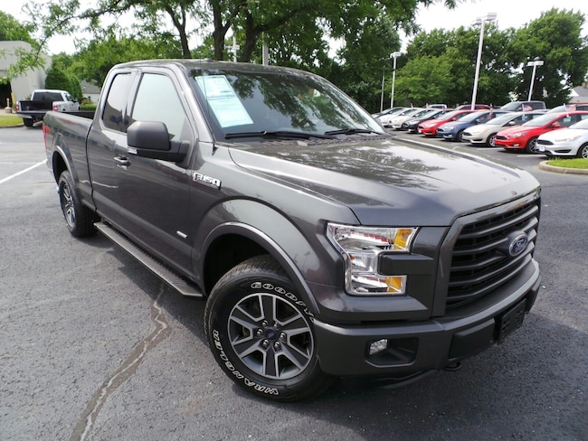 Used 2016 Ford F-150 XLT 4WD SuperCab 145 XLT in Louisville, KY