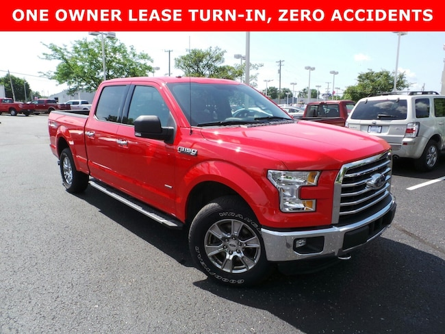 Used 2016 Ford F-150 XLT 4WD SuperCrew 157 XLT in Louisville, KY