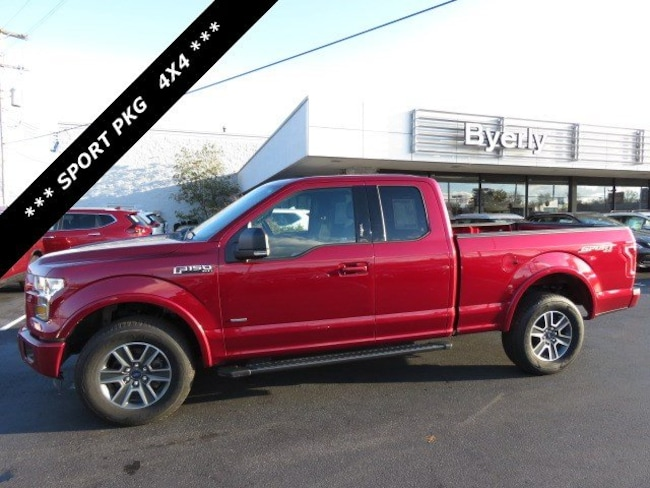Used 2015 Ford F-150 XLT 4WD SuperCab 145 XLT in Louisville, KY