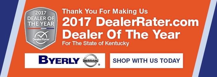 Byerly Nissan Dealer of the Year
