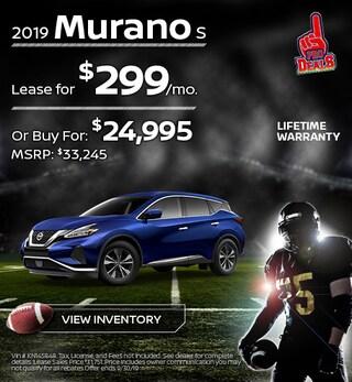 New 2019 Nissan Murano 9/17/19