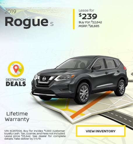 New 2019 Nissan Rogue 6/13/2019