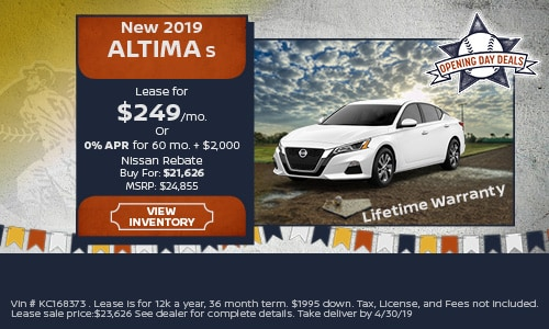 New 2019 Nissan Altima 4/16/2019