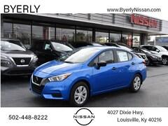 New 2021 Nissan Versa 1.6 S Sedan in Louisville, KY