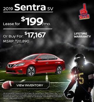 New 2019 Nissan Sentra 9/17/19