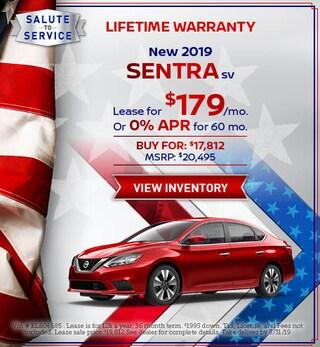 New 2019 Sentra SV 5/14/2019