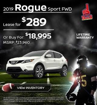 New 2019 Nissan Rogue Sport 9/17/19