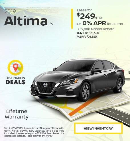New 2019 Nissan Altima 6/13/2019