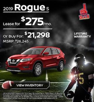 New 2019 Nissan Rogue 9/17/19