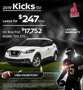 New 2019 Nissan Kicks 9/19/19