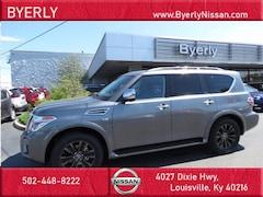 New 2020 Nissan Armada Platinum SUV in Louisville, KY