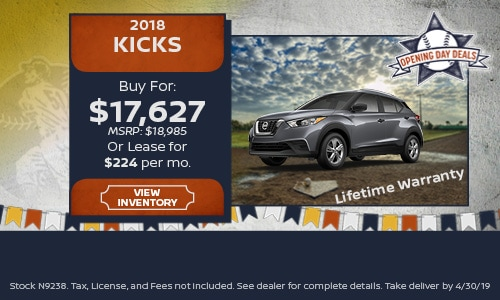 New 2018 Nissan Kicks 4/16/2019