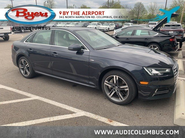 Used 2017 Audi A4 Premium Plus Sedan in Columbus OH at Audi Columbus